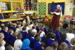 Y4 Anglo Saxon visitor
