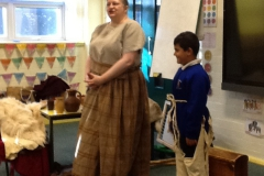 Year 3 Stone Age visitor
